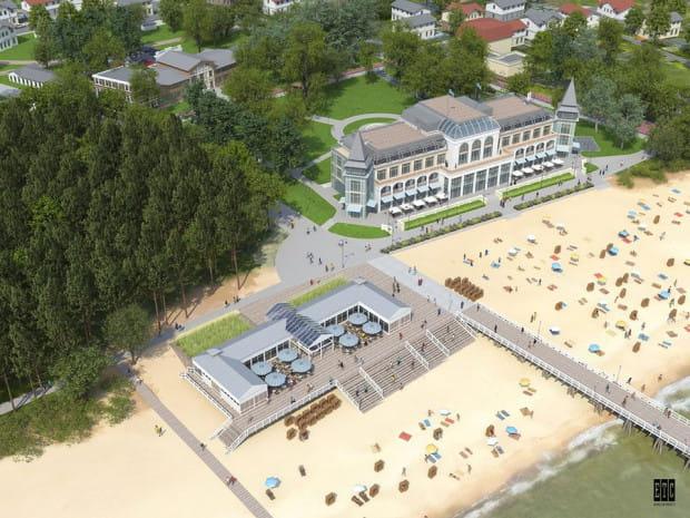 W 2015 roku, ówczesny użytkownik wieczysty terenu, na którym stała niegdyś Hala Plażowa, obiecywał, że odbuduje ją w takim kształcie.