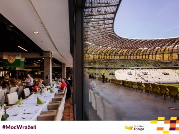 Do wylicytowania na WOŚP jest 4 miejscowy stolik w strefie vip na gdańskim Stadionie Energa.
