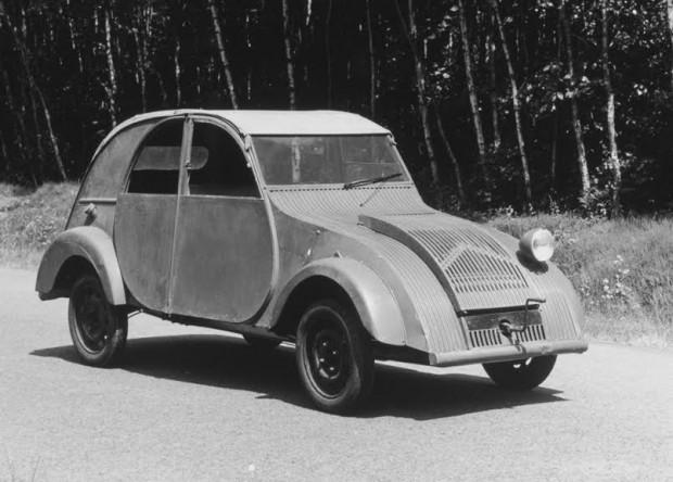 Tak wyglądał prototyp Citroena 2CV przed wojną.