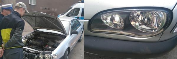 Ten kierowca postanowił zmodyfikować oświetlenie swojego auta, montując pod reflektorami taśmy ledowe. Gdańscy policjanci byli zmuszeni zatrzymać dowód rejestracyjny samochodu. Ponadto kierowca za wykroczenie został ukarany mandatem w wysokości 500 zł.