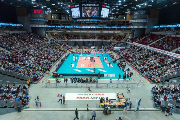 W ostatnich sezonach Ergo Arena wypełnia się tak podczas meczów Lotosu Trefla ze Skrą.