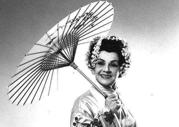 """Helena Mołoń zachwycała publiczność nie tylko pięknym sopranem, ale i genialnymi interpretacjami  m.in. Cio Cio San w """"Madama Butterfly"""" (na zdj.)"""