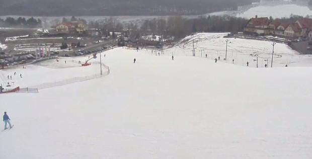 Tak wygląda stok Koszałkowo-Wieżyca, na którym w sobotę odbędą się zawody narciarskie dla amatorów.