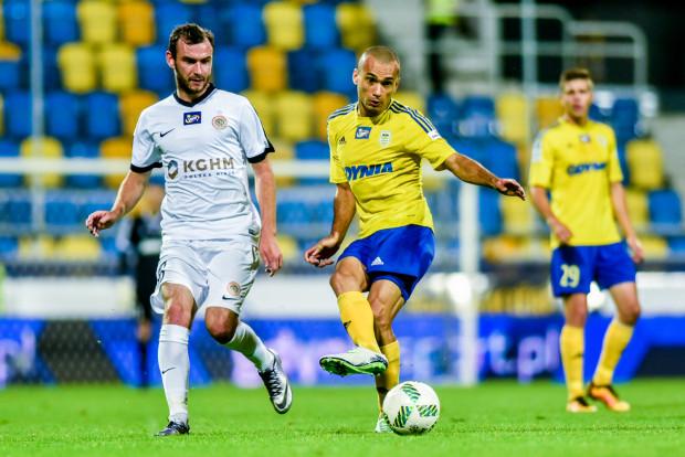W meczu kończącym 22. kolejkę ekstraklasy obie drużyny miały wielkie kłopoty z grą w ofensywie, ale do karnego podszedł nie Marcus (przy piłce), a Filip Starzyński i to sprawiło, że 3 punkty zostały przy Zagłębiu Lubin.