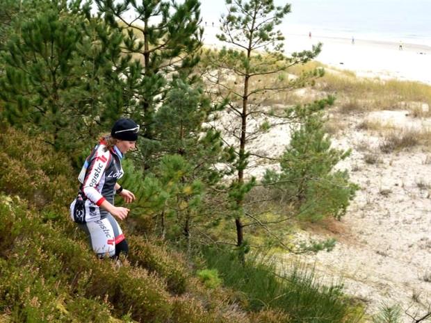 Etap biegowy Duathlonu na Wydmach