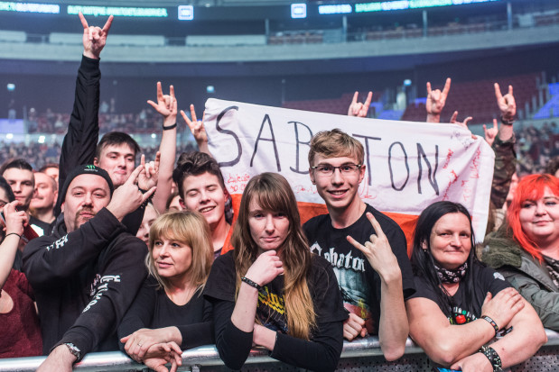 Na koncercie pojawili się fani w przeróżnym wieku, od kilkuletnich dzieci po osoby, które pamiętają początki Accept.
