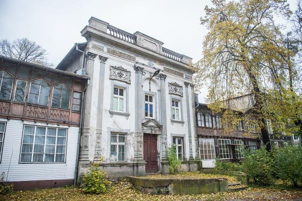 Dom Zdrojowy ma zyskać nowe życie do 2019 roku. Obecnie czeka na koncepcje architektoniczne.