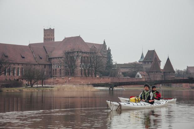 Pasjonaci wycieczek kajakowych opłynęli Pętlę Żuławską