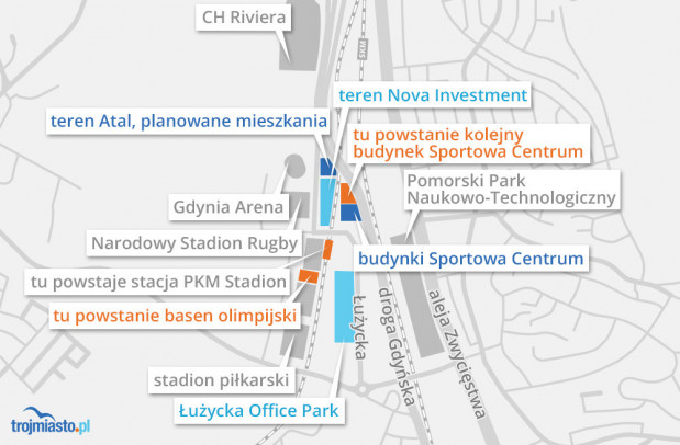Miasto tłumaczy, że coraz więcej inwestycji w okolicy zmusza do planowania nowych rozwiązań drogowych.