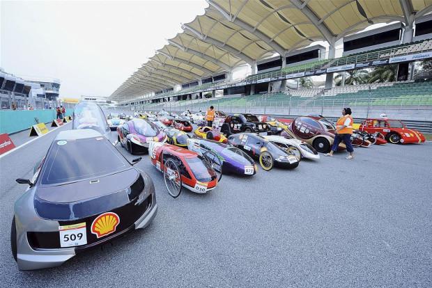 Impreze Shell Eco Marathon odwiedzają uczestnicy z różnych zakątków świata.