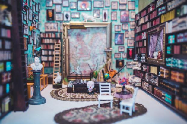 Prace Roberta Romanowicza zachwycają precyzją - wszystkie miniaturowe elementy autor wykonuje własnoręcznie.