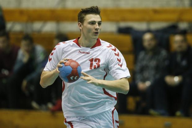 Maciej Zarzycki był najskuteczniejszy w meczu z drużyną z Malborka. Rzucił jej 11 bramek.