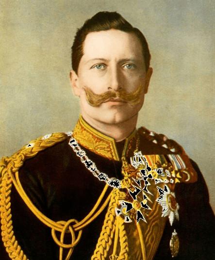Cesarz Niemiec i król Prus Wilhelm II.