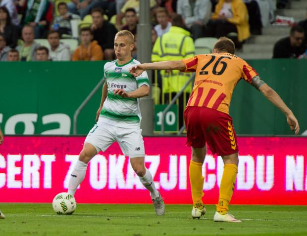 Dla Bartłomieja Pawłowskiego mecz w Iławie był pierwszym sparingiem w tym roku. Wcześniej przechodził rekonwalescencje po ubiegłorocznej kontuzji.