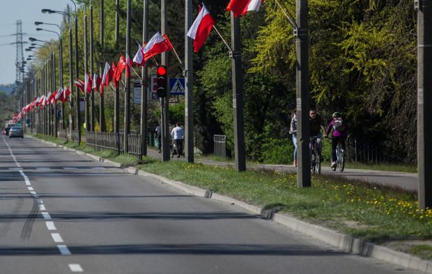 Do zdarzenia doszło na drodze rowerowej przy al. Zwycięstwa w Gdańsku.