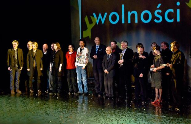 Uroczysta gala I Nagrody Literackiej Europejskiego Poety Wolności okazała się sukcesem debiutującego festiwalu. Do Gdańska przyjechało 5 nominowanych poetów, w tym laureat Uładzimier Arłoŭ z Białorusi (ze statuetką).