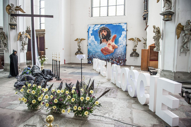 Grób Pański w Bazylice Mariackiej.