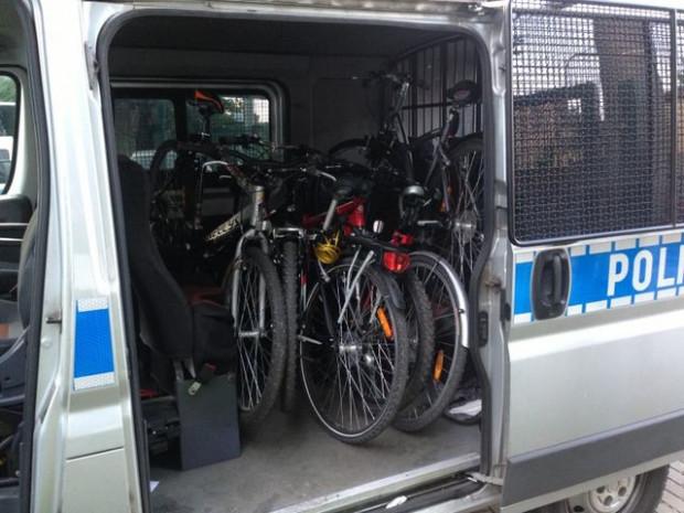 Policji często udaje się odzyskać skradzione rowery, w tym przypadku jednak - przynajmniej na razie - nie odzyskano żadnego jednośladu.