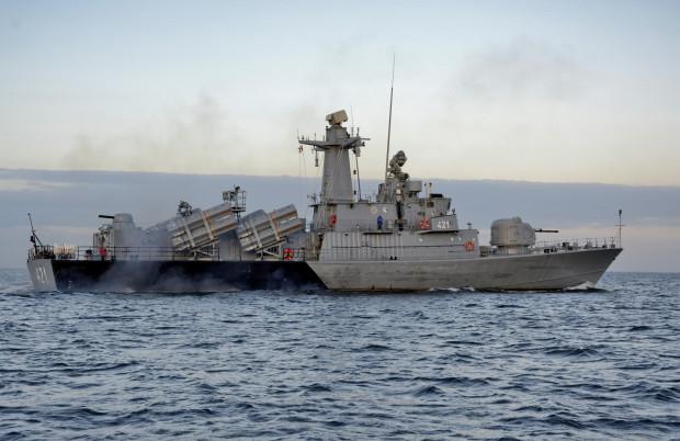 Pociski RBS15 Mk3 znajdują się na wyposażeniu jednostek MW klasy Orkan.