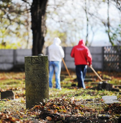 Skazani porządkują i remontują też m.in. cmentarz żydowski w Gdańsku.