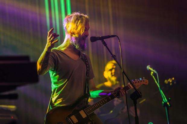 Na festiwalu zagrają polscy rockowi i hip-hopowi artyści. Na zdjęciu Organek.