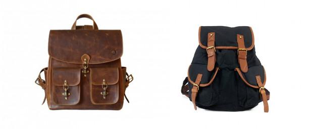 Plecaki w stylu vintage idealnie sprawdzą się na co dzień.