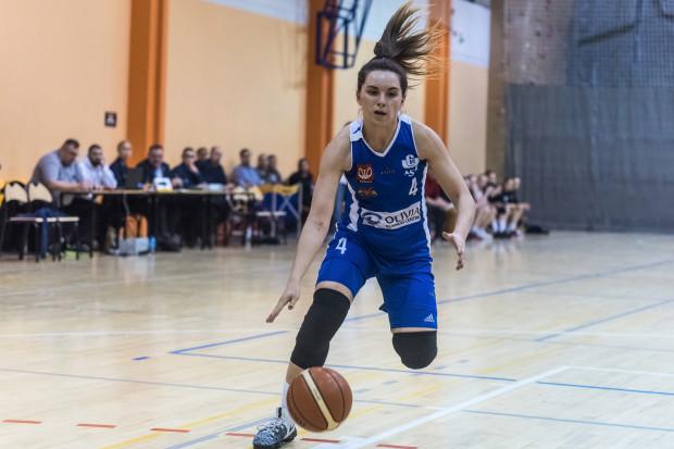 Karina Różyńska poprowadziła AZS UG do finału I ligi.