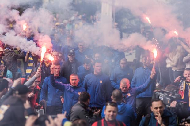 W sobotę miała miejsce ostatnia odsłona celebrowania zdobycia Pucharu Polski przez Arkę Gdynia. Od poniedziałku znów piłkarze będą oceniani wyłącznie przez pryzmat wyników, które osiągać będą w ekstraklasie.