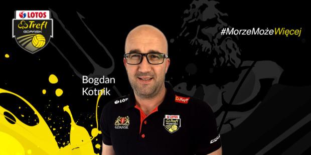 Nowy asystent, a zarazem przyjaciel trenera Andrei Anastasiego, Słoweniec Bogdan Kotnik.