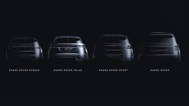 Hierarchia Range Rovera. Velar wypełnia lukę między Evoque i Sport.
