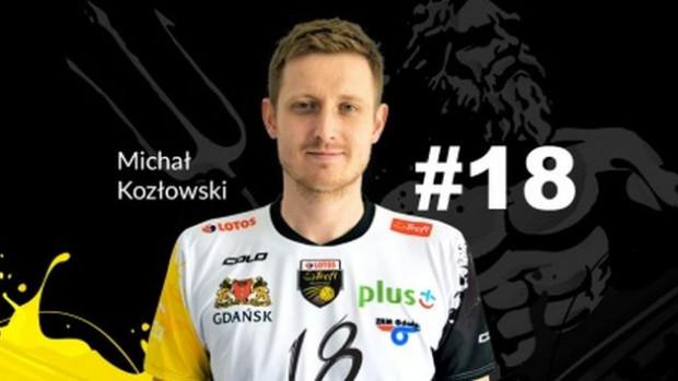 Michał Kozłowski to rezerwowa opcja na rozegraniu Lotosu Trefla na najbliższe dwa sezony.