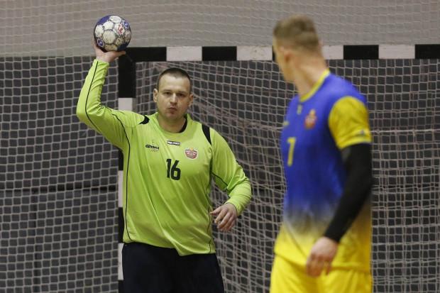 Pewne interwencje Marcina Głębockiego zapewniły Spójni spokojną końcówkę meczu w Wągrowcu.