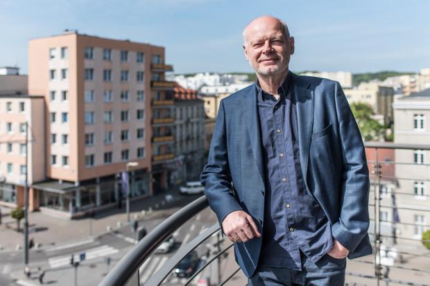 Andrzej Boczek, prezes firmy AB Inwestor, która będzie budować biurowiec na skwerze Plymouth nie chce czerpać zysków z parkingu, który powstanie w ramach tej inwestycji.