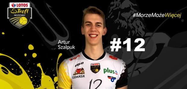 Artur Szalpuk powinien być podstawowym przyjmującym w sezonie 2017/2018 w Lotosie Treflu.