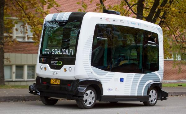 Autonomiczny mikrobus będzie testowany na ulicach Gdańska.