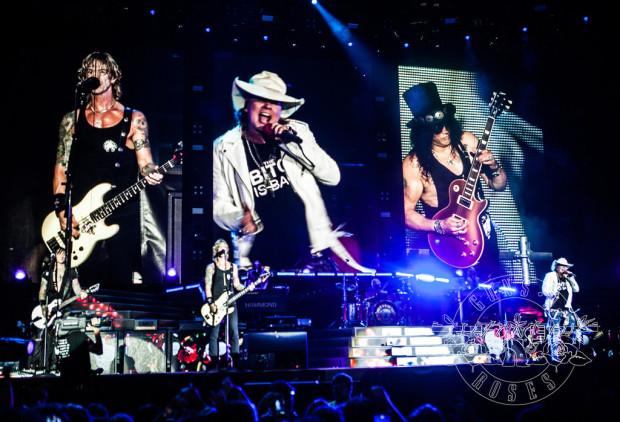 Guns N' Roses zagrają na stadionie w Letnicy 20 czerwca.
