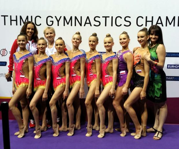 Polskie gimnastyczki na mistrzostwach Europy w Budapeszcie