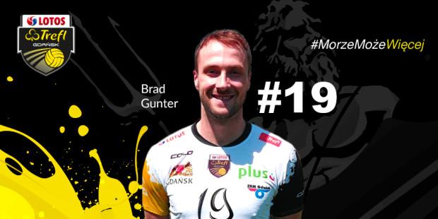 Brad Gunter będzie rywalizował w Lotosie Treflu miejsce na boisku z Damianem Schulzem.
