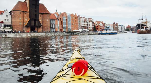Po raz kolejny będzie można podziwiać Gdańsk z kajaka podczas specjalnych, wodnych wycieczek.