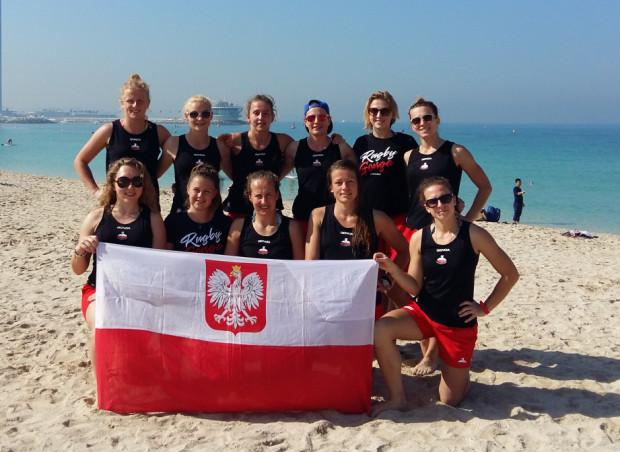 W sobotę w Gdańsku Biało-Zielone Ladies odbiorą medale za siódmy z rzędu tytuł mistrzyń kraju, a uhonorowana zostanie także reprezentacja Polski, której trzon tworzą gdańszczanki. Na zdjęciu podczas turnieju w Dubaju.