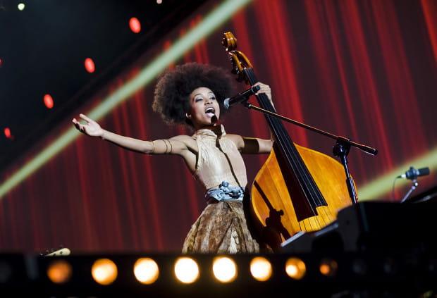 Esperanza Spalding była główną gwiazdą koncertu finałowego SofA w 2014 roku.