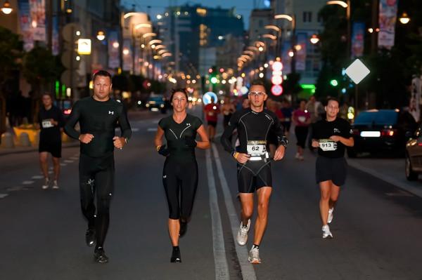 Świętojańska tej nocy wypełni się biegaczami.
