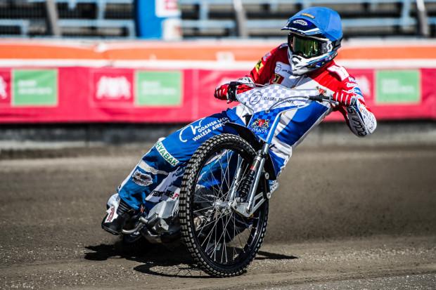Dominik Kossakowski przyjeżdżał w Poznaniu tylko na pierwszym miejscu.