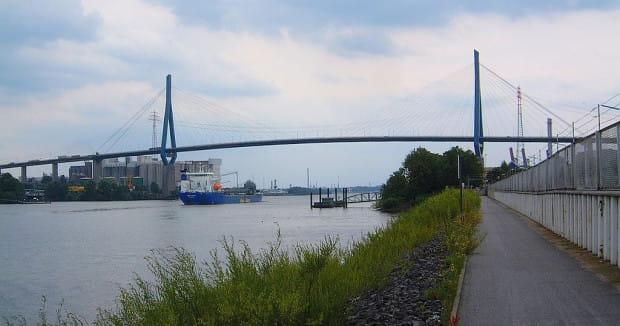 Taki most mógłby być receptą na korki na północy Gdyni.