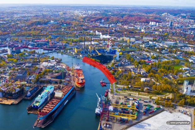 Jeszcze w tym roku zostaną przeprowadzone prace dotyczące umocnień brzegowych końcowego odcinka Nabrzeża Szczecińskiego.