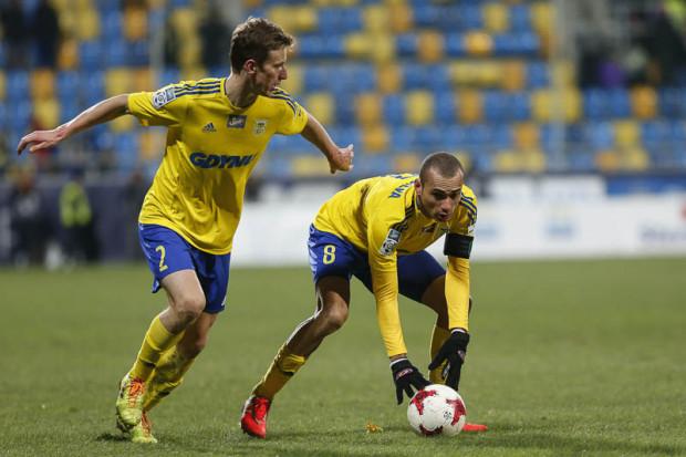 Marcus (nr 8) i Tadeusz Socha (2) to dwaj z czterech piłkarzy, którzy lada dzień powinni przedłużyć umowy z Arką Gdynia.