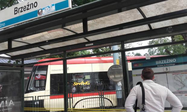 Do zdarzenia doszło na pętli tramwajowej w Brzeźnie.