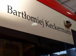 Bartłomiej Keckermann jest patronem tramwaju Pesa 1037.