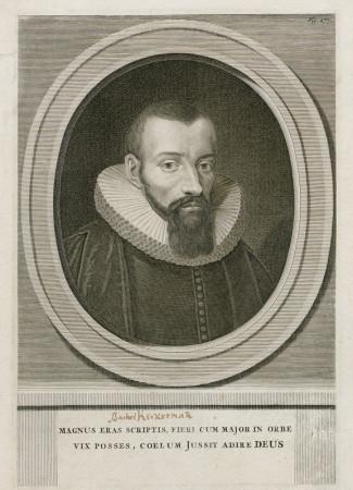 Portret Bartłomieja Keckermanna.