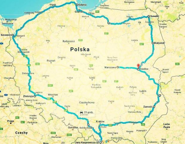 Tur de  Legendarną Warszawą dookoła Polski; tur de poloń, warszawa ...